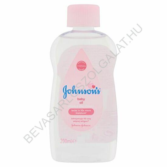Johnson's Baby Oil Babaolaj 200 ml