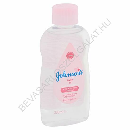 Johnson's Baby Oil Babaolaj 200 ml