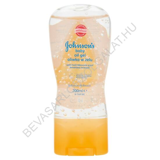 Johnson's Baby Oil Gel Friss Virágillat 200 ml