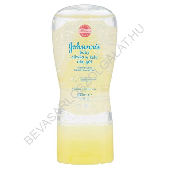 Johnson's Baby Oil Gel Kamillás 200 ml