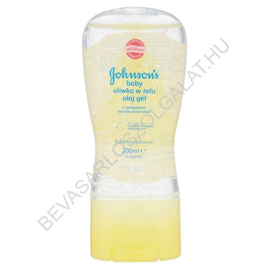 Johnson's Baby Oil Gel Kamillás 200 ml