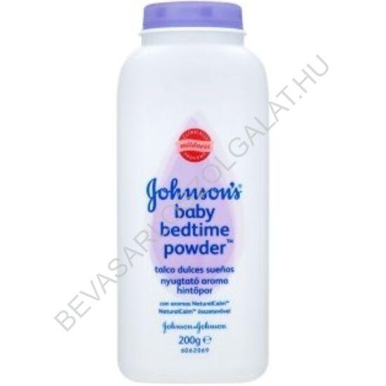 Johnson's Baby Nyugtató Aroma Hintőpor 200 g