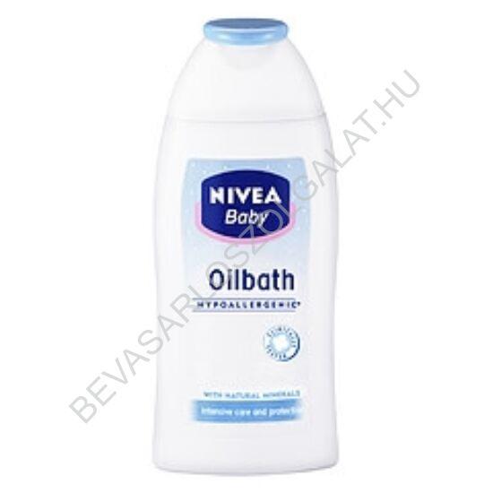 Nivea Baby Oilbath Olajos Babafürdető 200 ml