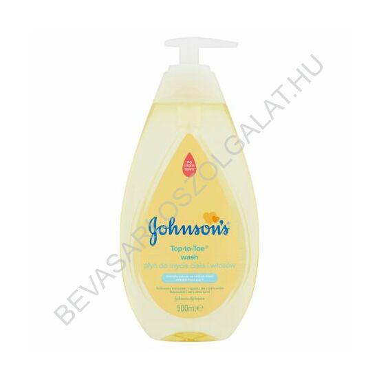 Johnsons Baby Top-To-Toe Fürdető és Sampon pumpás 500 ml