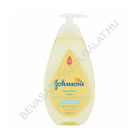 Johnsons Baby Top-To-Toe Fürdető és Sampon pumpás 500 ml