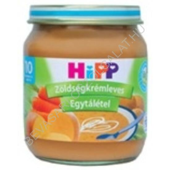 Hipp Bébiétel Zöldségkrémleves - 10 hónapos kortól 200 g