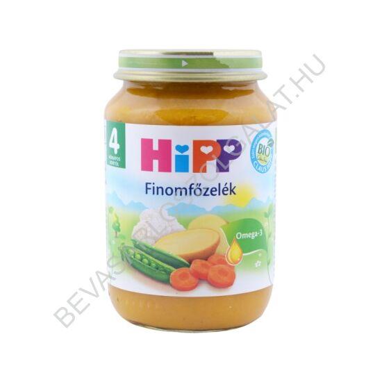 Hipp BIO Bébiétel Finomfőzelék - 4 hónapos kortól 190 g