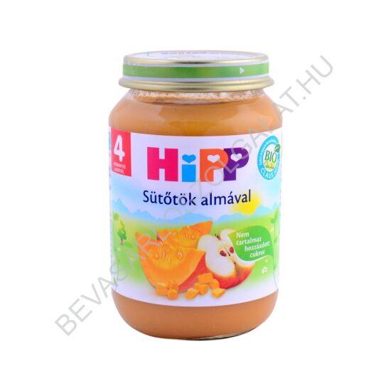 Hipp BIO Bébiétel Sütőtök Almával - 4 hónapos kortól 190 g