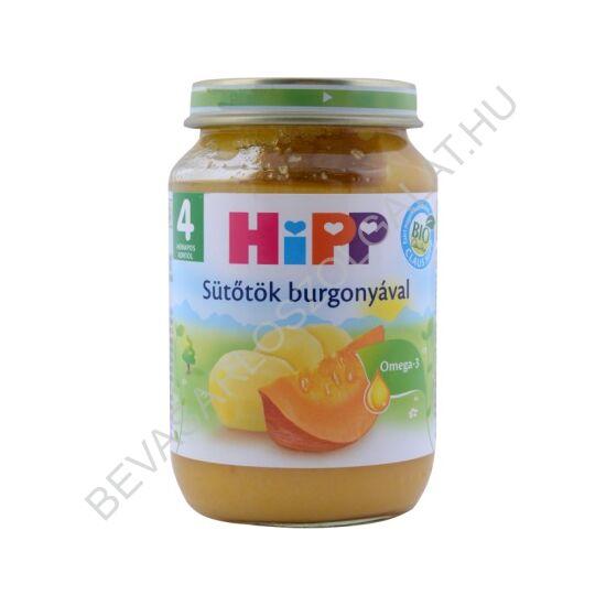 Hipp BIO Bébiétel Sütőtök Burgonyával - 4 hónapos kortól 190 g