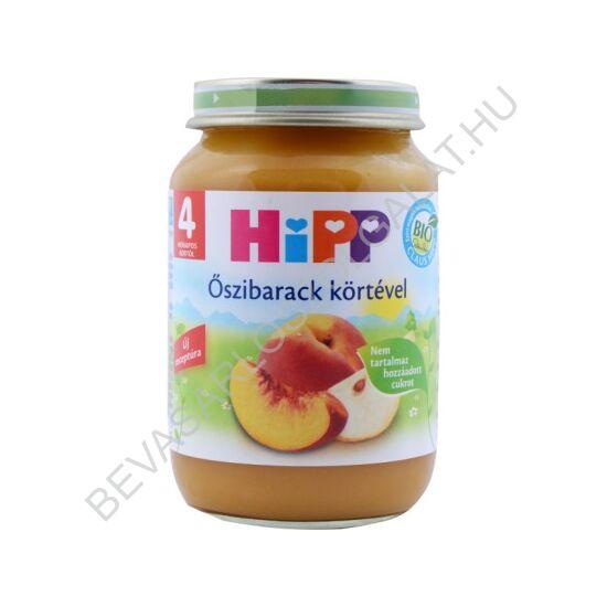 Hipp Bébiétel Őszibarack Körtével - 4 hónapos kortól 190 g