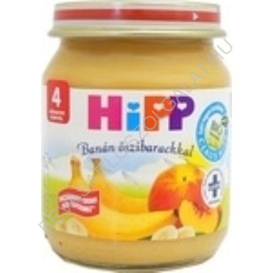 Hipp BIO Bébiétel Banán Őszibarackkal - 4 hónapos kortól 125 g