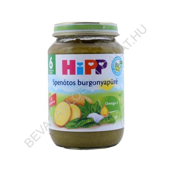 Hipp BIO Bébiétel Spenót Burgonyával - 6 hónapos kortól 190 g
