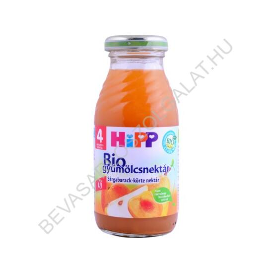 Hipp BIO Bébiital Sárgabarack Ital - 4 hónapos kortól 200 ml