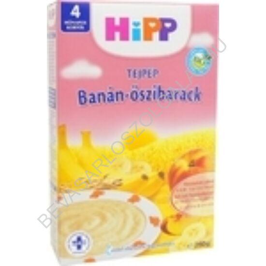 Hipp Bio Tejpép Banán - Őszibarack - 4 hónapos kortól 250 g