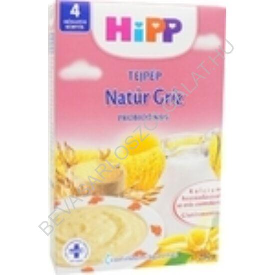 Hipp Tejpép Natúr Gríz Probiotikus Vaníliás - 4 hónapos kortól 250 g