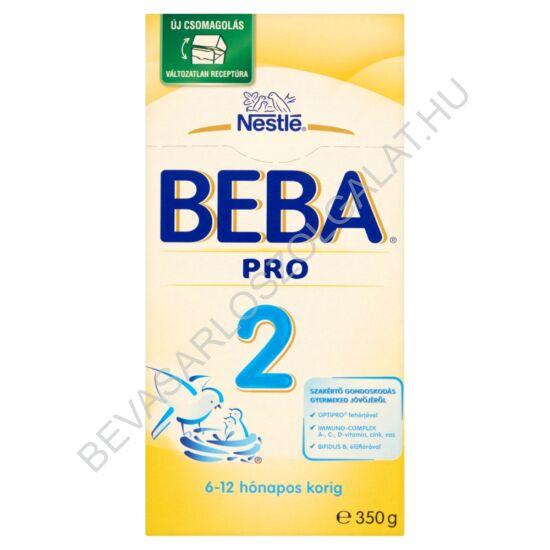 Nestlé Beba Pro 2 Tejalapú Anyatej-kiegészítő Tápszer - 6-12 hó 350 g