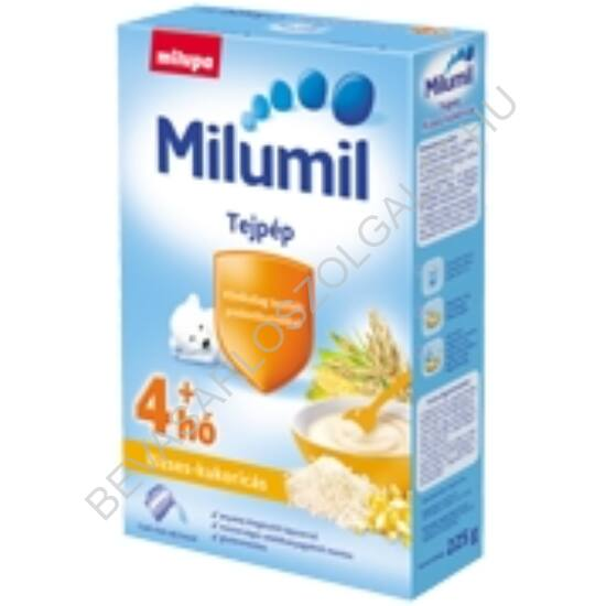Milupa Milumil Tejpép Rizses - Kukoricás - 4 hónapos kortól 225 g
