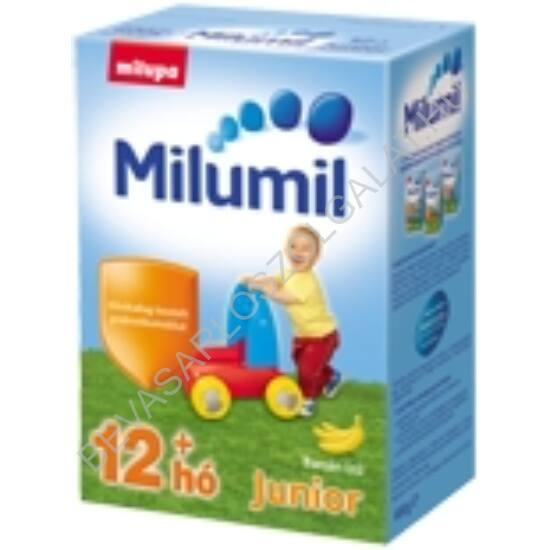 Milupa Milumil BANÁN Ízű Gyerekital Por Junior - 1 éves kortól 600 g