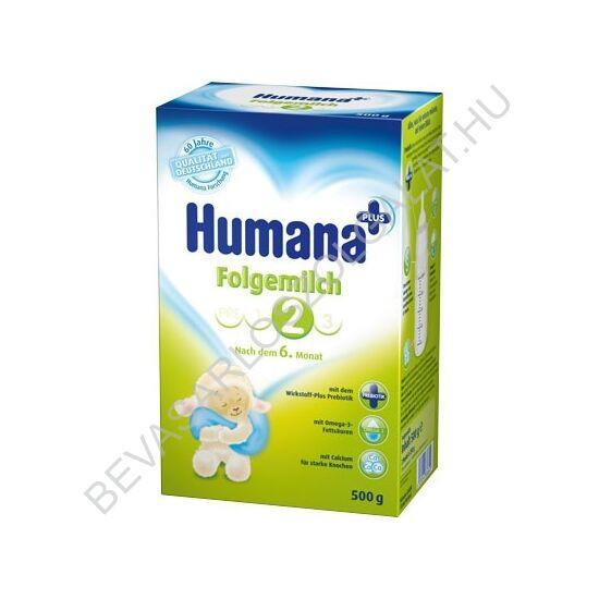 Humana 2 Bébitápszer - 6 hónapos kortól 500 g