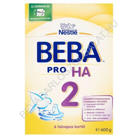 Nestlé Beba HA 2 Pro Gluténmentes Tejalapú Anyatej-kiegészítő Tápszer - 6 hónapos kortól 600 g