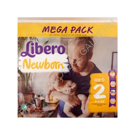 Libero Newborn Pelenka (2) 3-6 kg 108 db