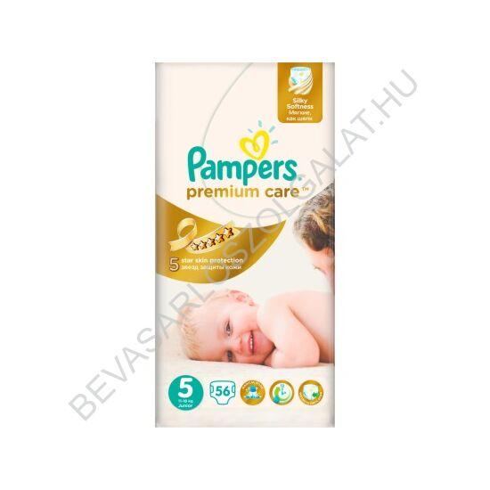Pampers Premium Care Pelenka Junior (5) 11-25 kg 56 db