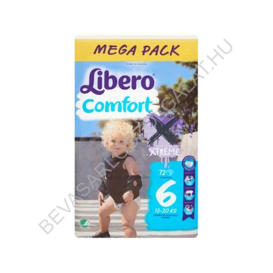 Libero Comfort Pelenka (6) 13-22 kg Megapack 72 db