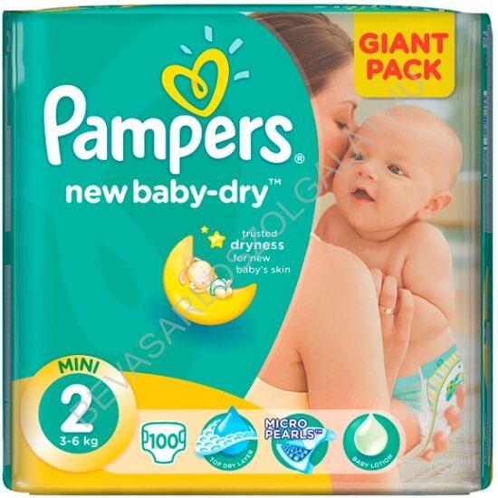 Pampers New Baby Pelenka Mini (2) 3-6 kg Giant Pack 100 db