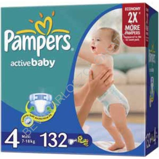 Pampers Active Baby Pelenka Maxi (4) 7-14 kg 132 db