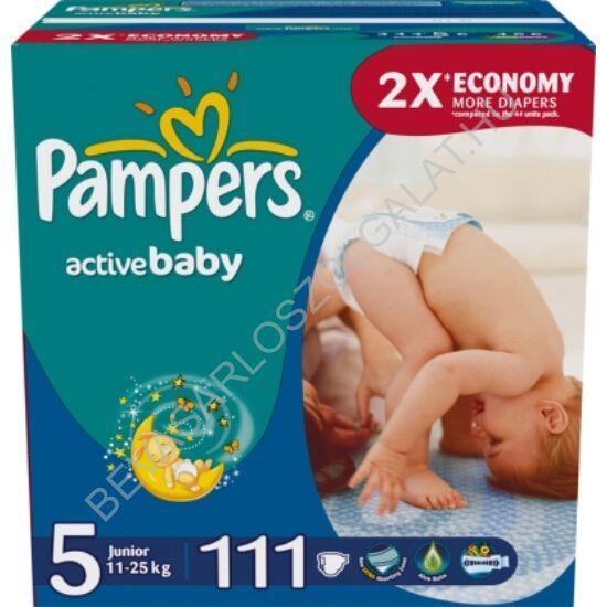Pampers Active Baby Pelenka Junior (5) 11-18 kg 111 db