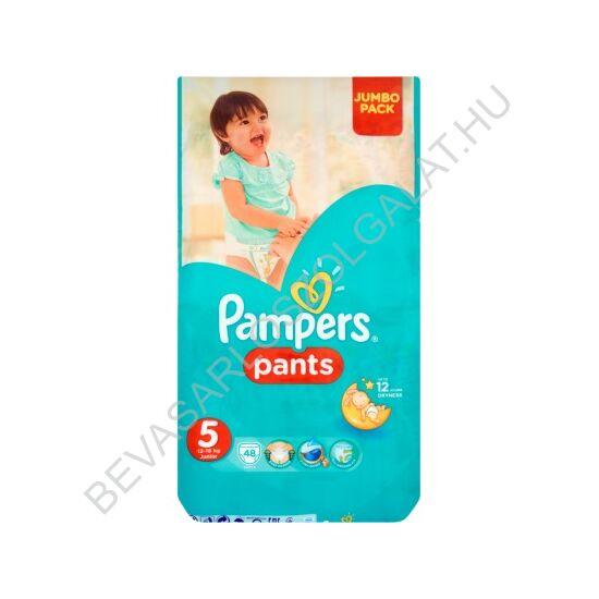 Pampers Pants Pelenka Junior (5) 12-18 kg 48 db