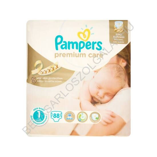Pampers Premium Care Pelenka Newborn (1) 2-5 kg 78 db