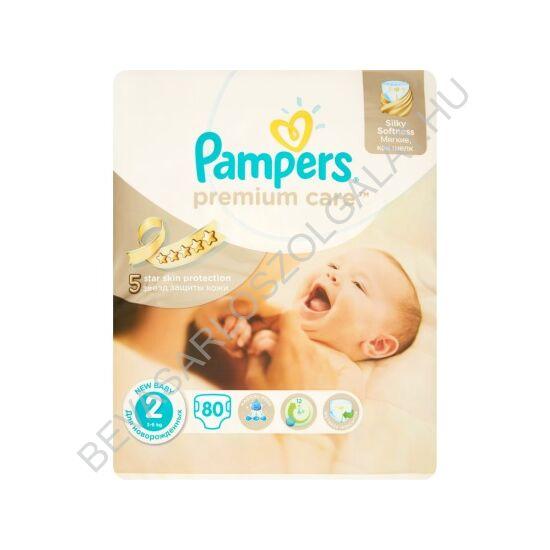 Pampers Premium Care Pelenka Mini (2) 3-6 kg 80 db