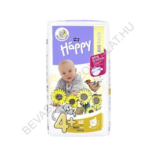 Bella Baby Happy Pelenka Maxi Plus (4+) 9-20 kg 62 db