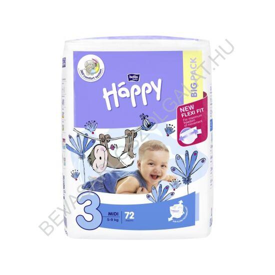 Bella Baby Happy Pelenka Midi (3) 5-9 kg 78 db