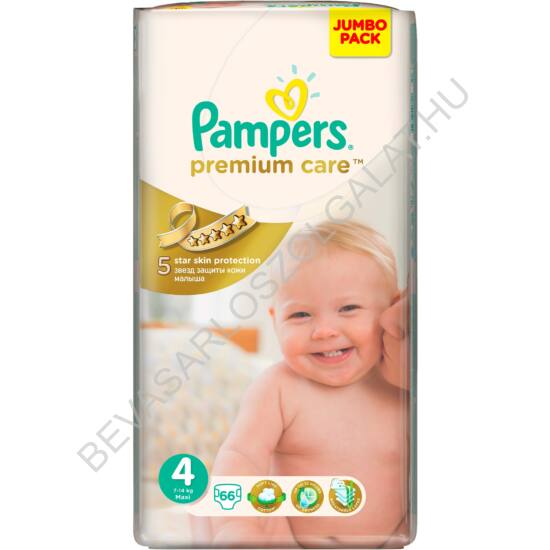 Pampers Premium Care Pelenka Maxi (4) 7-14 kg 66 db